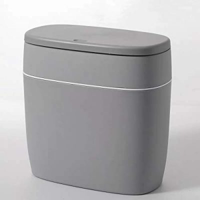 CY craft Plastic Trash Can with Lid
