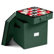 Premium Christmas Ornament storage Box with Lid