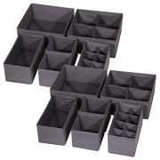 DIOMMELL 12 Pack Foldable Cloth Storage Box