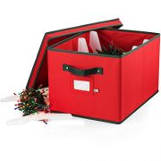 ZOBER Christmas Light Storage Box - Premium 600D Oxford