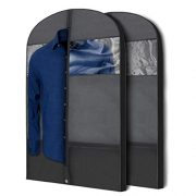 Plixio Gusseted Garment Bags Suit Bag for Travel