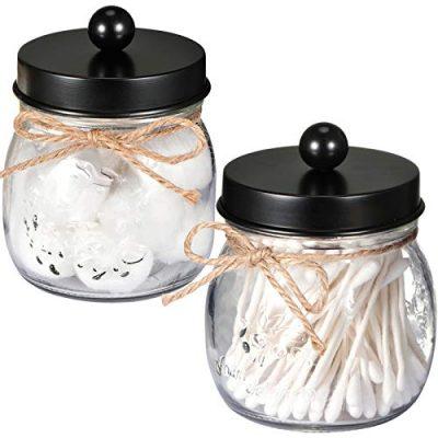 SheeChung Apothecary Jars Set,Mason Jar Decor