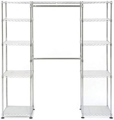 Closet Organizer - Bedroom Space Saving