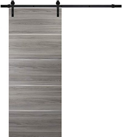 Barn Sliding Grey Door Planum