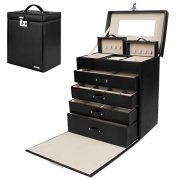 Homde Jewelry Box Girls Fully Locking Organizer