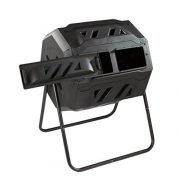 Dual Chamber Rolling Compost Tumbler