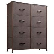 WLIVE Storage Tower, Organizers and Storage with 8 Fabric Drawers