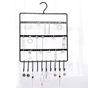 lemonadeus Jewelry Hooks Storage Hanging Organizer