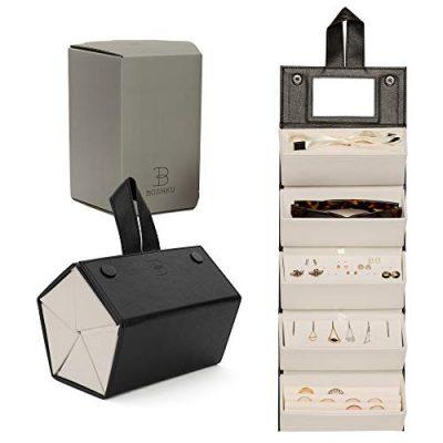 Organizer Jewelry Box w/Necklace Holder