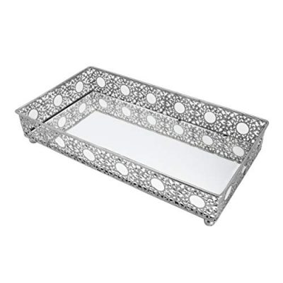 Bathroom Mirror Tray, Cosmetics Tray, Perfume Collection Tray