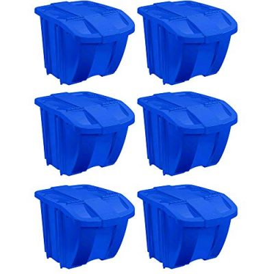 Resin Home Recycle Storage Bin