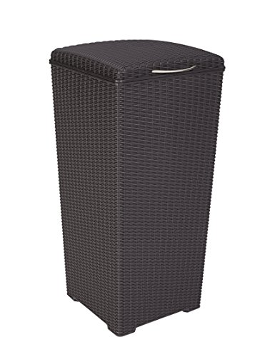 Trash Can with Lid Perfect for Backyard Hosting