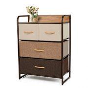 YOUNIS Dresser Organizer Cabinet Drawer Storage
