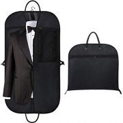 "Orange Tech 43"" Gusseted Travel Garment Bag for Business"