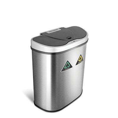 Infrared Motion Sensor Automatic Trash Can