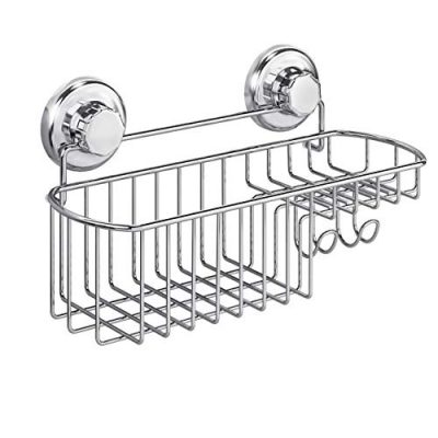 Combo Organizer Basket with Soap Holder and Hooks