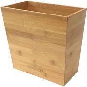 Bamboo Waste Basket | Waste Basket for Bathroom