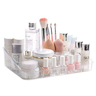 Tray Cosmetic Display Case Brush Holder Storage Box