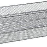 Utensil Organizer Steel Mesh 3-Compartment Cutlery