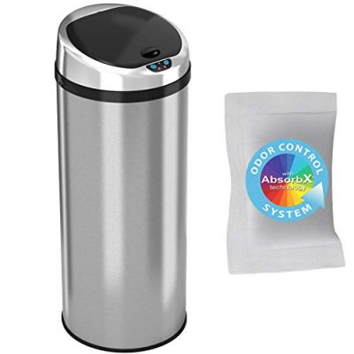 Kitchen Trash Can 13 Gallon Touchless