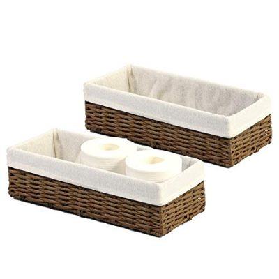 Organizer Basket Bin Toilet Paper Basket Storage