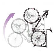 Bike Nook Bicycle Stand, Portable and Stationary Space-Saving Rack