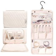 Caperci Hanging Travel Jewelry Organizer Case