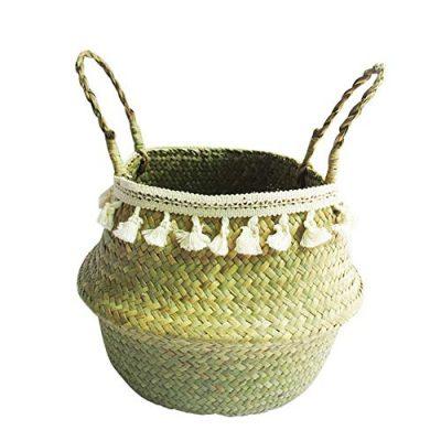 Storage Basket, Woven Plant Basket