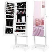 Nicetree Jewelry Cabinet with Full-Length Mirror