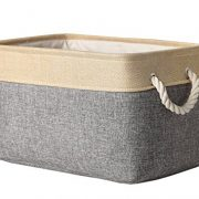 Fabric Storage Bin Organizer Basket with Handles