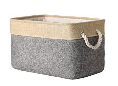 Fabric Storage Bin Organizer Basket with Handles