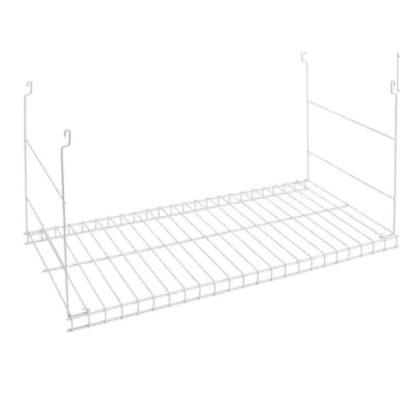 Durable Steel Wire Hanging Added Storage Shelf
