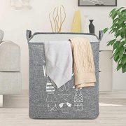 Pollenzic Large Laundry Hamper 69L Collapsible Laundry Baskets