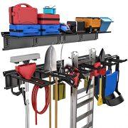 Adjustable Tool Organizer Holds Garden Tools