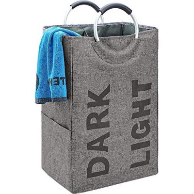 Self-Standing Modern Laundry Basket for Dorm Room