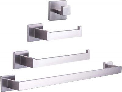 Stainless Steel Brushed Nickel 24 inch Towel Bar