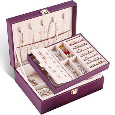 Jewelry Box Organizer Storage Case