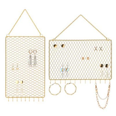 Wall Holder Hanging Jewelry Organizer Display