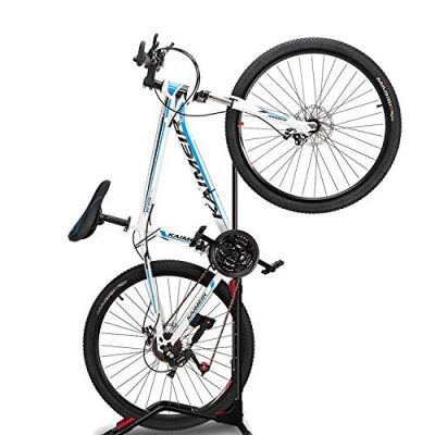 ZUKVYE Bike Rack Floor Stand, Indoor Bicycle Storage Mount