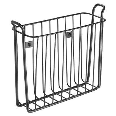 iDesign Classico Steel Wall Mount Magazine Holder