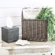 Farmhouse Rustic Woven Willow Storage Basket