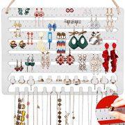 Hanging Jewelry Organizer Earring Organizer Necklace