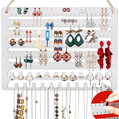 Hanging Jewelry Organizer Earring Organizer Necklace