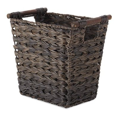Driftwood Brown Waste Basket