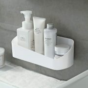 Bathroom Shelf Organizer Wall Mounted Storage Rack