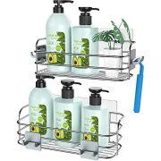 Hanging Sponge and Razor Shampoo Holder Organizer
