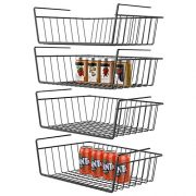 Under Shelf Basket, GSlife 4 Packs Under Shelf Storage