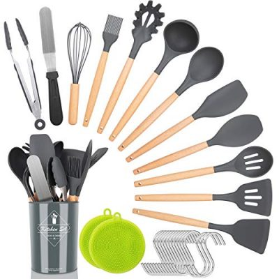 Kitchen Utensil Set,30 Pcs Silicone Cooking Utensils