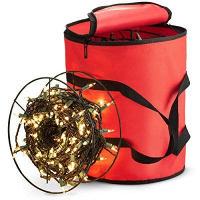 ZOBER Premium Christmas Light Storage Bag