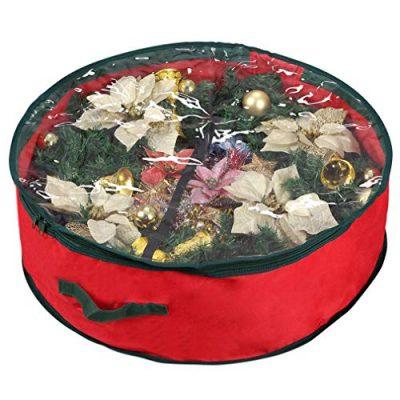 "Primode Xmas Wreath Storage Bag 24"""